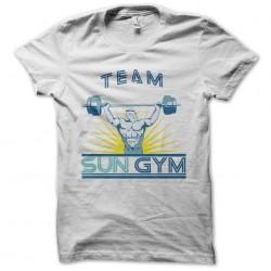 tee shirt sun gym team no...