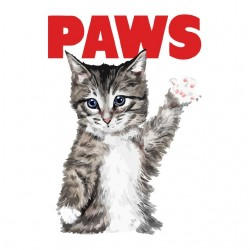tee shirt paws chaton sublimation