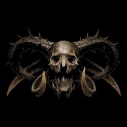 T-shirt black Demonskull...