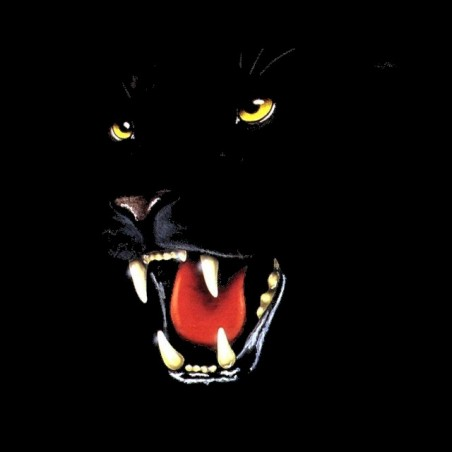 panthere black t-shirt sublimation