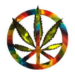 tee shirt marijuana rainbow...