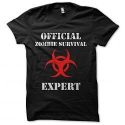 tee shirt zombie survival...