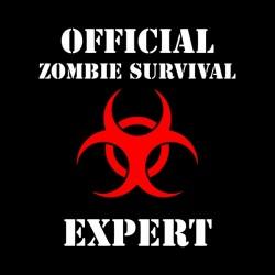 zombie survival expert sublimation shirt