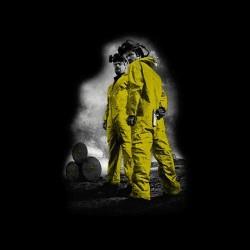 Breaking Bad Heisenberg t-shirt Pinkman duotone black sublimation