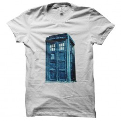 tee shirt tardis docteur...