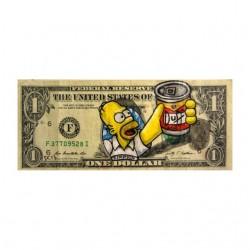 simpson homer duff dollar...