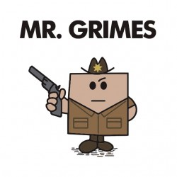 tee shirt mr grimes walking dead sublimation