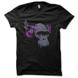 dj monkey sublimation shirt