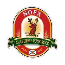 shirt nofx punk beer...