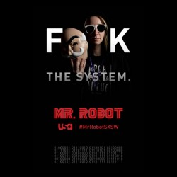 shirt mr robot fuck the system sublimation
