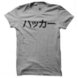 shirt hacker japan sublimation