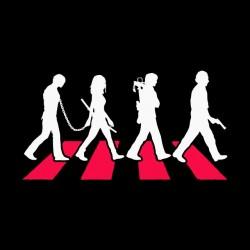 walking dead shirt beatles sublimation