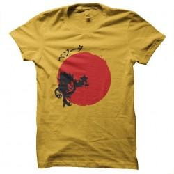 tee shirt vegeta rising sun...