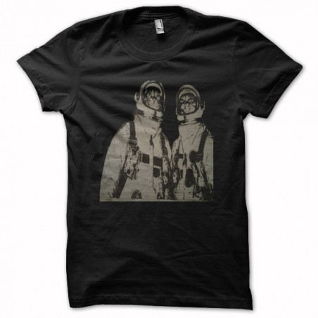Tee shirt  chats astronautes  sublimation