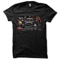 tee shirt death metal bands...