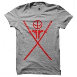 tee shirt deadpool logo...