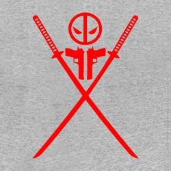 shirt deadpool logo saber sublimation