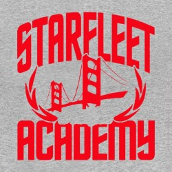 shirt starfleet academy star trek sublimation