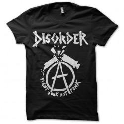 shirt punk disorder anarchy...