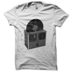DJ Vinyl Cleaner white sublimation t-shirt