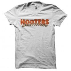 shirt hooters white...