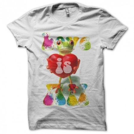 Love Is All Roger Glover t-shirt and the butterfly ball frog pouch white sublimation