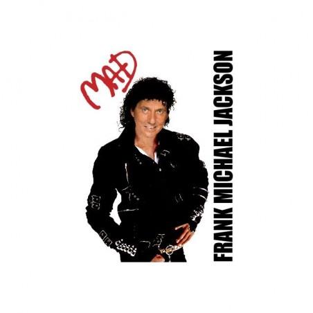 Frank Michael Jackson parody t-shirt white sublimation