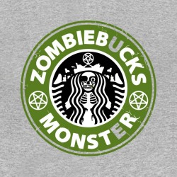 shirt zombie monster starbucks sublimation