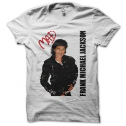 Tee shirt Frank Michael parodie Michael Jackson  sublimation