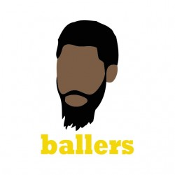 tee shirt ballers Ricky Jerret s sublimation