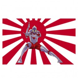 Ultraman t-shirt flag of...