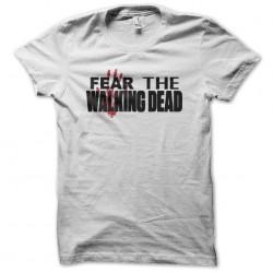 tee shirt fear the walking...