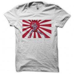 Tee shirt Ultraman drapeau du soleil levant  sublimation