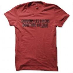 tee shirt sauvons les...