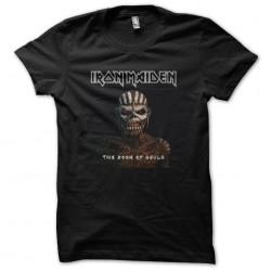 tee shirt iron maiden book...