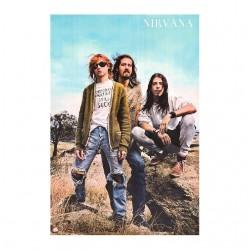 tee shirt nirvana poster grunge sublimation