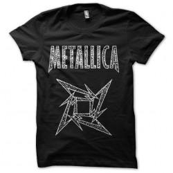sublimation metallica shirt