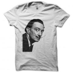 T-shirt Salvador Dali Fou white sublimation