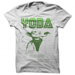 shirt yoda white sublimation