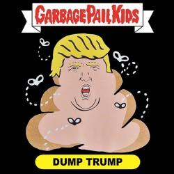 shirt dump trump black sublimation