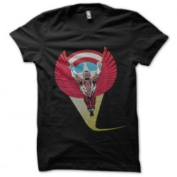shirt the black falcon...