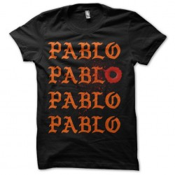 black sublimation pablo shirt