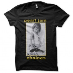 tee shirt pearl jam choices...