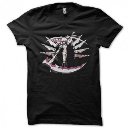 White rock shooter black sublimation t-shirt