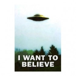 tee shirt i want to believe...