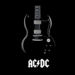 shirt acdc guitar group sublimation