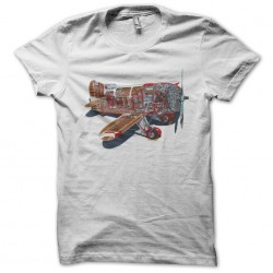 Tee shirt carcasse d'avion  sublimation