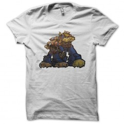Tshirt cats rappers white sublimation