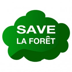 shirt save the forest white sublimation