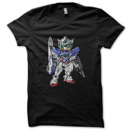 SD gundam t-shirt version Exia the black sublimation robot